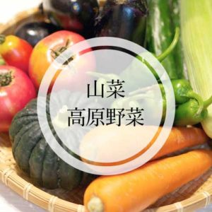 山菜、野菜直売